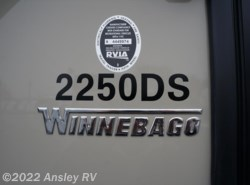 New 2017  Winnebago Minnie 2250DS by Winnebago from Ansley RV in Duncansville, PA