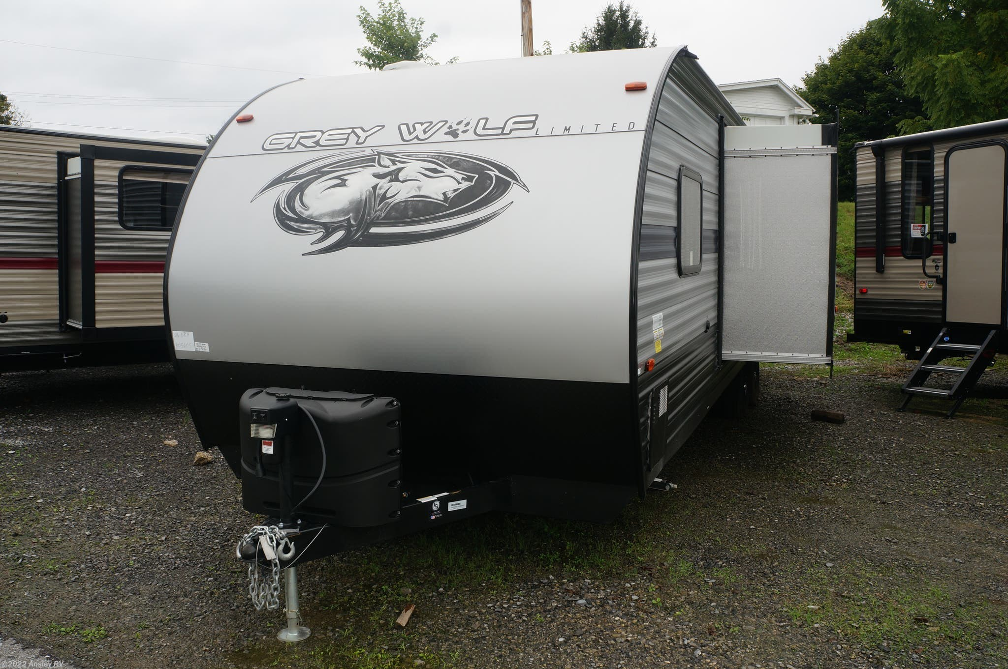 Image result for grey wolf RV