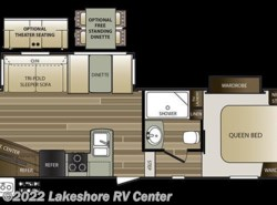 New 2018  Keystone Cougar XLite 25RES by Keystone from Lakeshore RV Center in Muskegon, MI