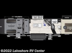 New 2018  Keystone Fuzion 357 by Keystone from Lakeshore RV Center in Muskegon, MI