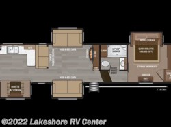 New 2018  Keystone Montana 3701LK by Keystone from Lakeshore RV Center in Muskegon, MI