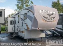 Used 2012  Heartland RV Cyclone 3800 Toy Hauler by Heartland RV from Lazydays in Seffner, FL