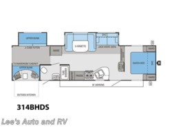 Full Specs for 2014 Jayco Eagle 314 BDS RVs | RVUSA.com on