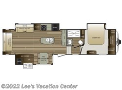 New 2017  Keystone Cougar 327RLK by Keystone from Leo's Vacation Center in Gambrills, MD