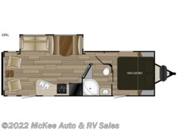 New 2019  Cruiser RV Radiance Ultra Lite 25RL by Cruiser RV from McKee Auto & RV Sales in Perry, IA