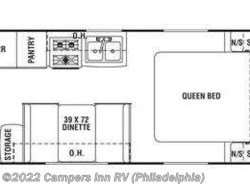 Used 2010  Coachmen Apex 24 QB by Coachmen from Campers Inn RV in Hatfield, PA