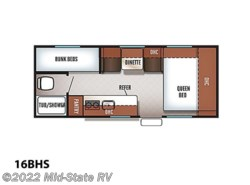 New 2018  Forest River Cherokee Wolf Pup 16BHS by Forest River from Mid-State RV Center in Byron, GA