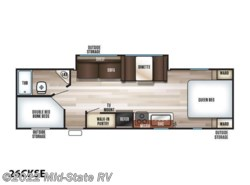 New 2019  Forest River Cherokee Grey Wolf SE 26CKSE by Forest River from Mid-State RV in Byron, GA