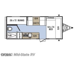 New 2019  Coachmen Clipper Ultra-Lite 17CBH by Coachmen from Mid-State RV in Byron, GA
