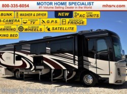 New 2017  Holiday Rambler Endeavor 40G Bunk Model W/King, Stack W/D, Sat by Holiday Rambler from Motor Home Specialist in Alvarado, TX