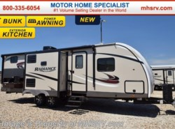 New 2017  Cruiser RV Radiance Touring 28BHIK Bunk Model RV for Sale W/Ext Kitche by Cruiser RV from Motor Home Specialist in Alvarado, TX