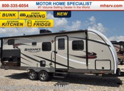 New 2017  Cruiser RV Radiance 24BHDS Touring Ed, Ext Kitchen, Res Fridge, TV by Cruiser RV from Motor Home Specialist in Alvarado, TX