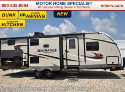 New 2017  Cruiser RV Radiance Touring 28BHIK Bunk House RV for Sale W/Ext Kitche by Cruiser RV from Motor Home Specialist in Alvarado, TX