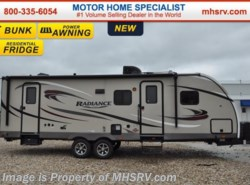 New 2017  Cruiser RV Radiance Touring 28BHSS RV for Sale at MHSRV.com by Cruiser RV from Motor Home Specialist in Alvarado, TX
