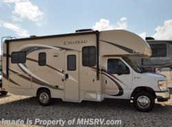 New 2017  Thor Motor Coach Chateau 23U Class C RV for Sale W/Upgraded A/C & 3 Cam by Thor Motor Coach from Motor Home Specialist in Alvarado, TX