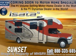 New 2018  Dynamax Corp Isata 5 Series 35DB Super C Bunk Model RV for Sale W/8K Dsl Gen by Dynamax Corp from Motor Home Specialist in Alvarado, TX