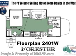 New 2018  Forest River Forester MBS 2401W Sprinter Diesel RV for Sale @ MHSRV.com by Forest River from Motor Home Specialist in Alvarado, TX