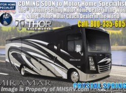 New 2019  Thor Motor Coach Miramar 35.3 Bath & 1/2 RV for Sale W/Fireplace & King Bed by Thor Motor Coach from Motor Home Specialist in Alvarado, TX