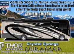 New 2018  Thor Motor Coach Miramar 34.2 RV for Sale at MHSRV W/FWS, King & Fireplace