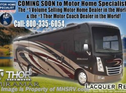 New 2018  Thor Motor Coach Miramar 34.2 RV for Sale at MHSRV W/FBP, King & Fireplace by Thor Motor Coach from Motor Home Specialist in Alvarado, TX