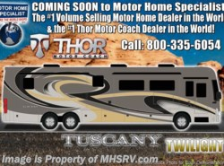 New 2017  Thor Motor Coach Tuscany 45AT Bath & 1/2, Dsl Aqua Hot, King Bed, 10K Gen by Thor Motor Coach from Motor Home Specialist in Alvarado, TX