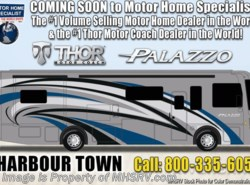 New 2019  Thor Motor Coach Palazzo 33.2 Diesel Pusher RV With W/D & OH Loft by Thor Motor Coach from Motor Home Specialist in Alvarado, TX