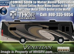 New 2017  Thor Motor Coach Venetian M37 Luxury Diesel RV for Sale W/Theater Seats by Thor Motor Coach from Motor Home Specialist in Alvarado, TX