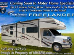 New 2018  Coachmen Freelander  31BH Bunk Model W/Ent Pkg., 15K A/C, Air Assist by Coachmen from Motor Home Specialist in Alvarado, TX