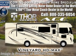 New 2018  Thor Motor Coach A.C.E. 30.2 ACE Bunk Model RV for Sale W/5.5KW Gen, 2 A/C by Thor Motor Coach from Motor Home Specialist in Alvarado, TX