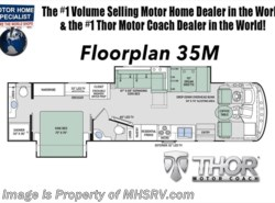 New 2018  Thor Motor Coach Windsport 35M Bath & 1/2 RV for Sale at MHSRV.com With King by Thor Motor Coach from Motor Home Specialist in Alvarado, TX