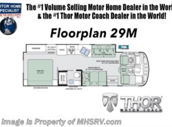 New 2018  Thor Motor Coach Hurricane 29M RV for Sale at MHSRV W/Dual A/C, 5.5 Gen, King by Thor Motor Coach from Motor Home Specialist in Alvarado, TX
