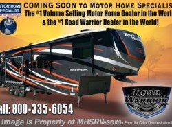 New 2018  Heartland RV Road Warrior RW427 Full Paint, Dual Pane, Arctic, 5 TV, 3 A/C by Heartland RV from Motor Home Specialist in Alvarado, TX