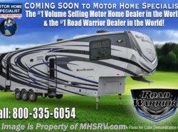 New 2017  Heartland RV Road Warrior RW427 Dual Pane, Arctic, 5 TVs, 3 A/C, King by Heartland RV from Motor Home Specialist in Alvarado, TX