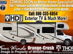 New 2018  Thor Motor Coach Four Winds 22B for Sale @ MHSRV W/15K A/C, 3 Cams, Stabilizer by Thor Motor Coach from Motor Home Specialist in Alvarado, TX