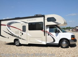 New 2018  Thor Motor Coach Chateau 26B RV for Sale at MHSRV W/Chevy Chassis & 15K A/C by Thor Motor Coach from Motor Home Specialist in Alvarado, TX