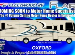 New 2018  Fleetwood Flair 31E Bunk Model for Sale at MHSRV 2 A/C, 5.5KW Gen by Fleetwood from Motor Home Specialist in Alvarado, TX
