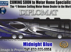 New 2018  Monaco RV Diplomat SE 43Q Bunk Model, Bath & 1/2, King, L Sofa, Sat by Monaco RV from Motor Home Specialist in Alvarado, TX