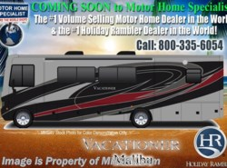 New 2018  Holiday Rambler Vacationer 35P RV for Sale W/ LX Pkg, W/D, Sat, King by Holiday Rambler from Motor Home Specialist in Alvarado, TX