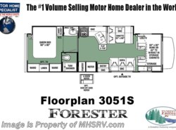 New 2018  Forest River Forester 3051S RV for Sale @ MHSRV W/15K BTU A/C, Jacks by Forest River from Motor Home Specialist in Alvarado, TX