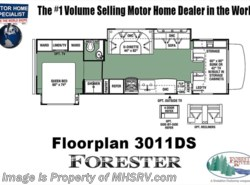 New 2018  Forest River Forester 3011DS RV for Sale @ MHSRV W/Jacks, 15K BTU A/C by Forest River from Motor Home Specialist in Alvarado, TX