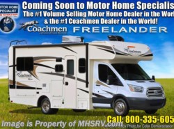 New 2018  Coachmen Freelander  Micro Mini 20CB RV for Sale at MHSRV W/15K BTU A/C by Coachmen from Motor Home Specialist in Alvarado, TX
