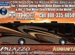 New 2018  Thor Motor Coach Palazzo 36.3 Bath & 1/2 Diesel Pusher Theater Seats & W/D by Thor Motor Coach from Motor Home Specialist in Alvarado, TX