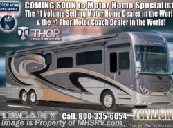 New 2019  Thor Motor Coach Tuscany 45MX Bath & 1/2, Theater Seats, Dsl Aqua Hot, King by Thor Motor Coach from Motor Home Specialist in Alvarado, TX