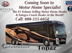 New 2018  Entegra Coach Cornerstone 45W Bath & 1/2 for Sale W/Theater Seats & Sofa by Entegra Coach from Motor Home Specialist in Alvarado, TX