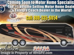 New 2019  Entegra Coach Anthem 44B Bath & 1/2 Luxury RV W/Theater Seats, Solar by Entegra Coach from Motor Home Specialist in Alvarado, TX