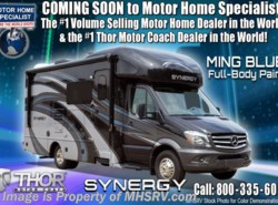 New 2018  Thor Motor Coach Synergy JR24 Sprinter Diesel for Sale W/ Dsl Gen, Solar by Thor Motor Coach from Motor Home Specialist in Alvarado, TX