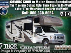 New 2018  Thor Motor Coach Quantum PD31 for Sale @ MHSRV W/Jacks, Ext. TV by Thor Motor Coach from Motor Home Specialist in Alvarado, TX