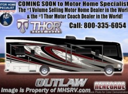 New 2018  Thor Motor Coach Outlaw 37RB Toy Hauler RV for Sale at MHSRV W/Garage Sofa by Thor Motor Coach from Motor Home Specialist in Alvarado, TX