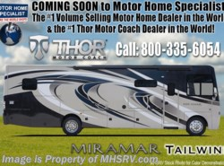 New 2018  Thor Motor Coach Miramar 34.2 RV for Sale @ MHSRV W/ FWS, King, Fireplace by Thor Motor Coach from Motor Home Specialist in Alvarado, TX