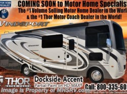 New 2018  Thor Motor Coach Windsport 34P RV for Sale at MHSRV W/King Bed & Dual Sink by Thor Motor Coach from Motor Home Specialist in Alvarado, TX
